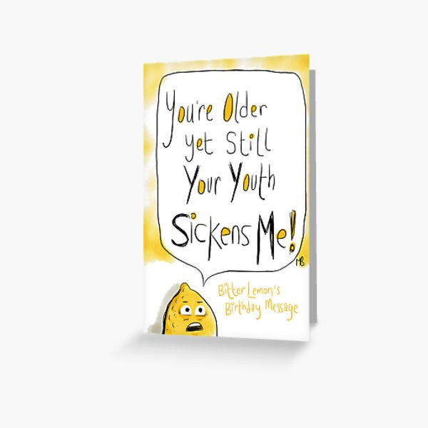 Hand Me The Gin /& Tonic Retro Humour Birthday Card Funny Greeting Cards
