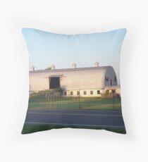 Big White Barn Throw Pillow