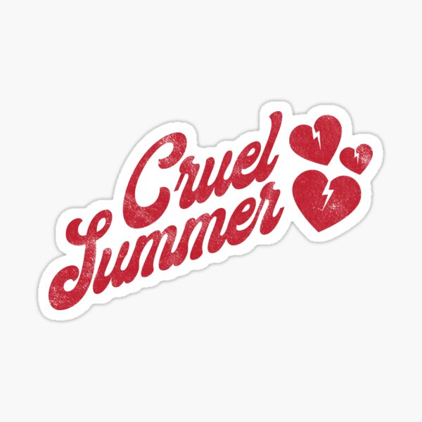 Cruel Summer - Taylor Swift Sticker