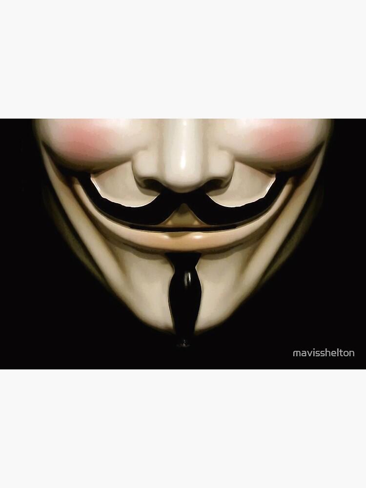 Guy Fawkes mask by mavisshelton