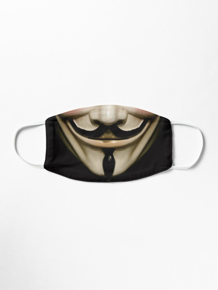 Alternate view of Guy Fawkes mask Mask
