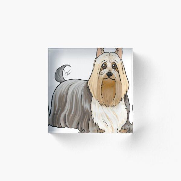 Silky Terrier Acrylic Block