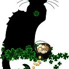 St Patrick's Day Le Chat Noir   by Gravityx9