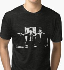 Pulp Fiction Laurel and Hardy Tri-blend T-Shirt