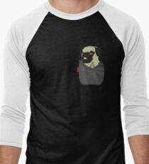 Pug You Pocket Men's Baseball ¾ T-Shirt
