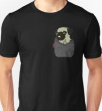 Pug You Pocket Unisex T-Shirt