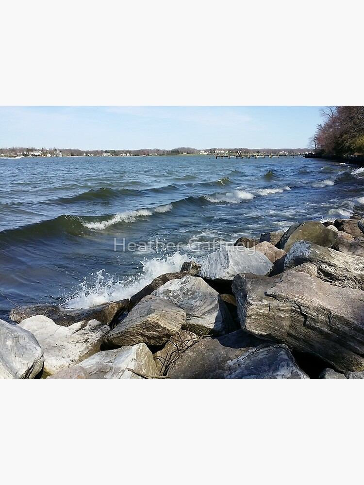 South River on the Rocks, Version 6 by MamaCre8s