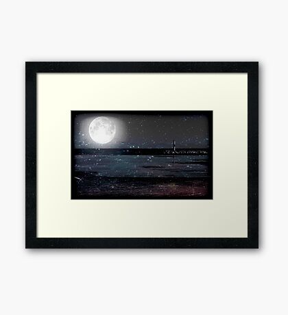 Magical Night © Framed Print