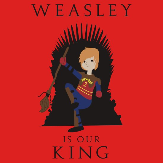 TShirtGifter presents: Weasley Is Our King 2 | Unisex T-Shirt