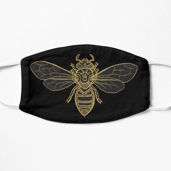 Mandala Bees Flat Mask