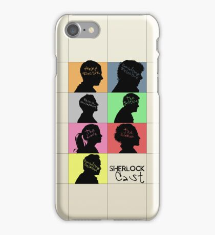 Sherlock - CAST iPhone Case/Skin