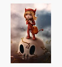 Wickedly Drawn Photographic Print