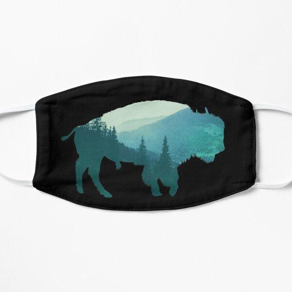 Bison Buffalo Double Exposure Surreal Animal Wildlife & Adventure Gift Mask