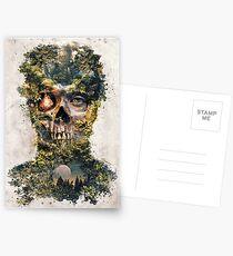 Der Torwächter Dark Surrealismus Art Postkarten
