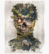 The Gatekeeper Dark Surrealism Art Poster
