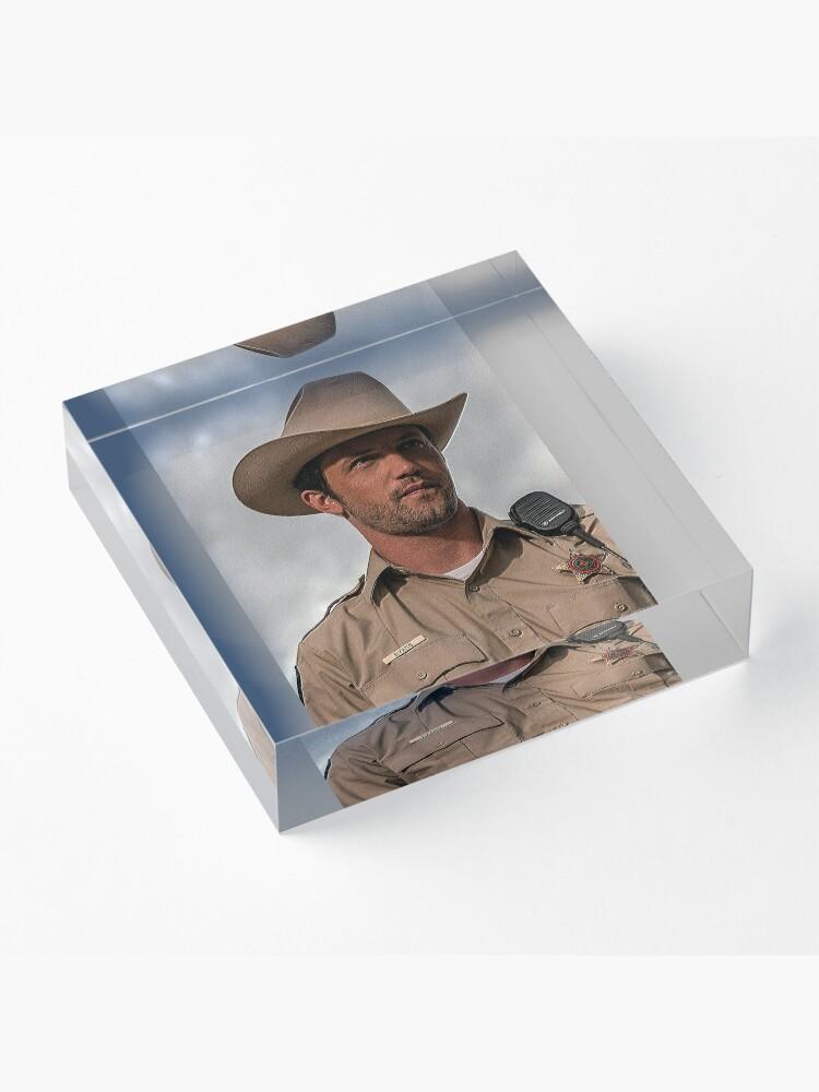 Alternate view of Max Evans Acrylic Block