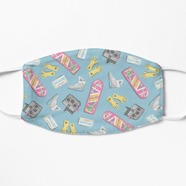 Back to the Future Flat Mask