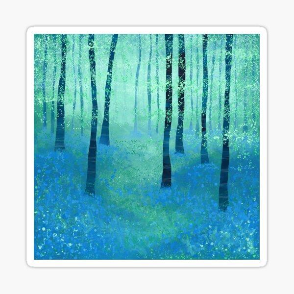 Bluebells, Challock Sticker