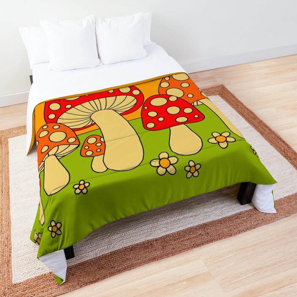 Mushrooms Comforter