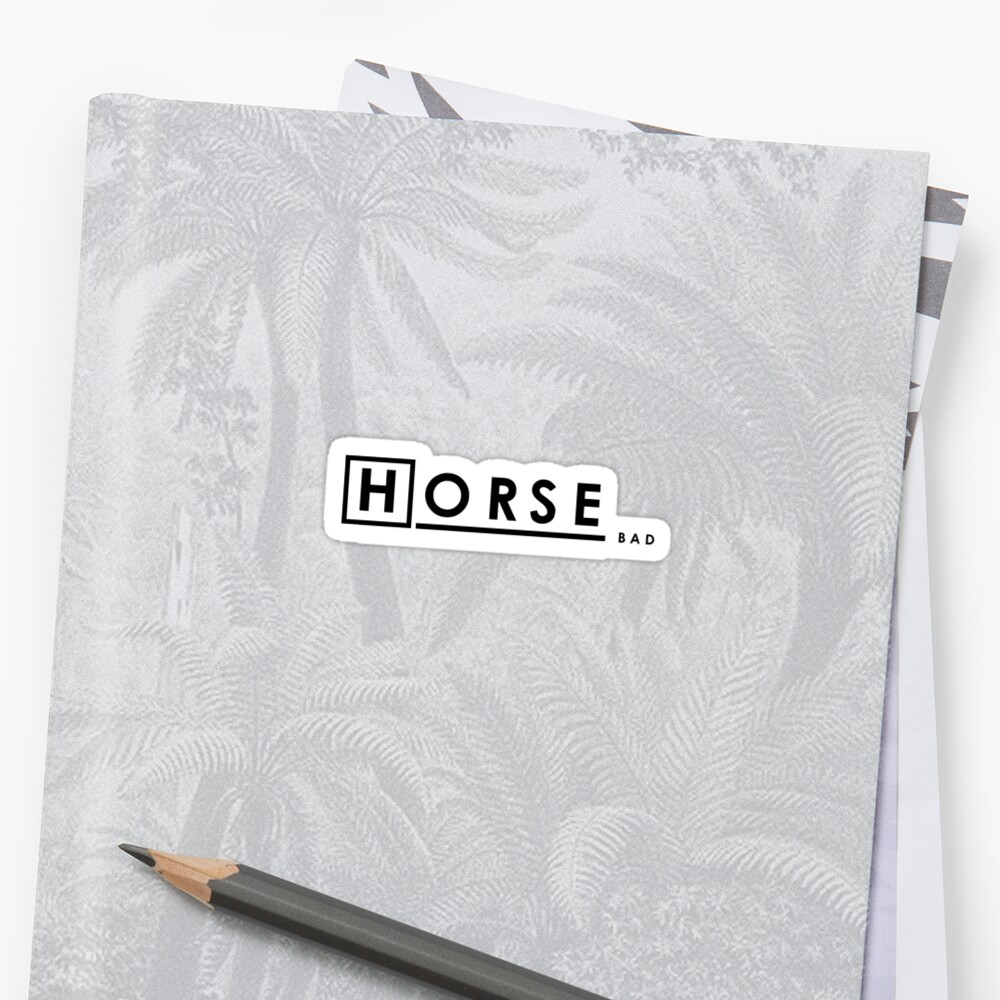 Bad Horse is Bad by scribblechap