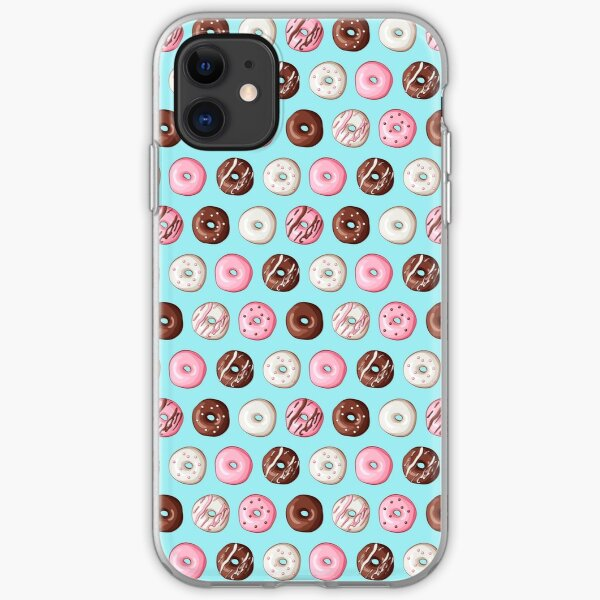 Frosted Donuts iPhone Soft Case