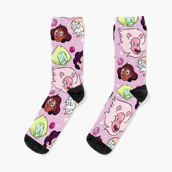 Crystal Gem Friends Socks