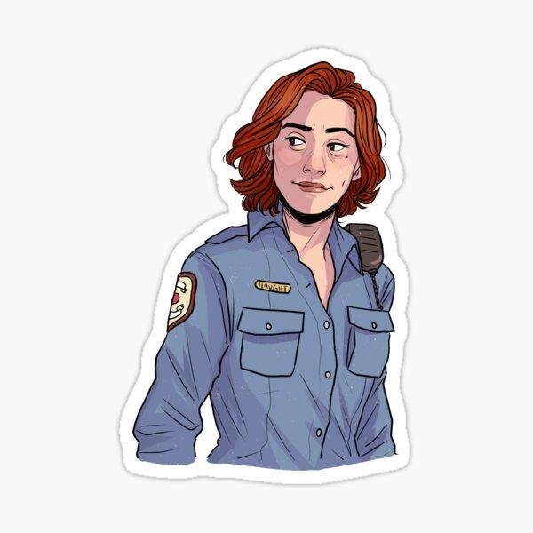 Officer Haught Sticker