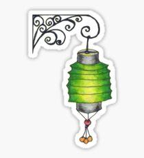 Paper Lantern 2 Sticker