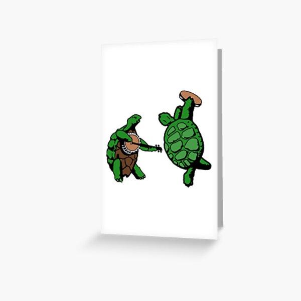 Terrapin Station Turtles Greeting Card