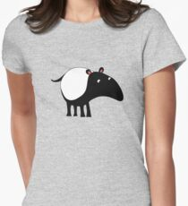Tapir Womens Fitted T-Shirt