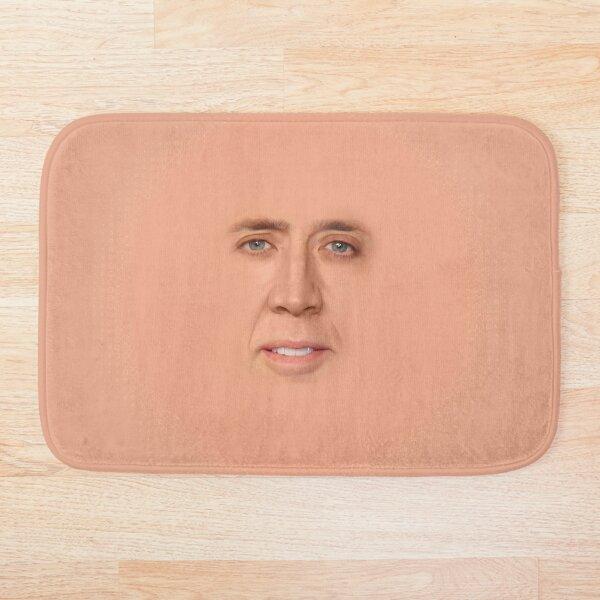 nicolas cage - Face Bath Mat