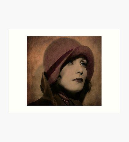 Greta Garbo Kunstdruck