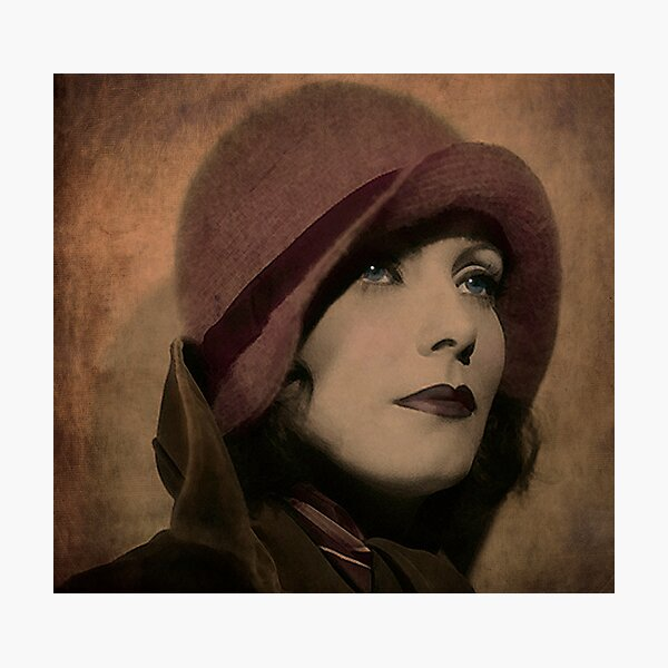 Greta Garbo Photographic Print