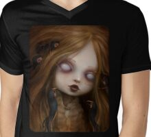 The face of all your fears Mens V-Neck T-Shirt