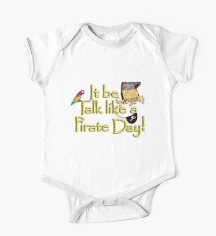 Pirate Talk Text - IT Be Talk Like a Pirate Day! Kids Clothes