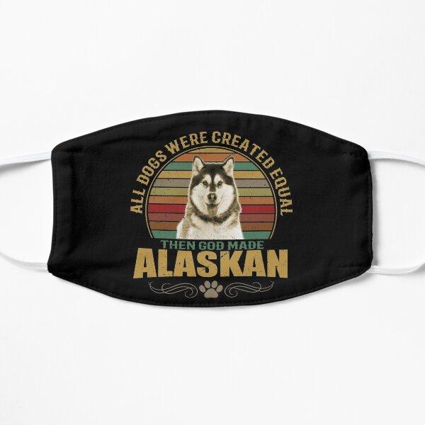 Alaskan Malamute Dog Mask