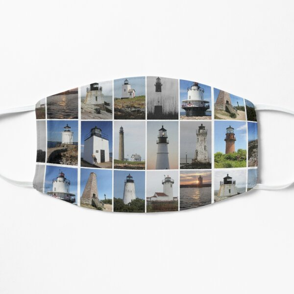 Atlantic Lighthouse Collection Flat Mask