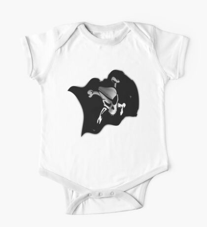 Waving Pirate Flag - Jolly Roger Kids Clothes