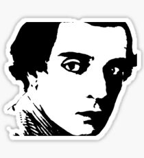 buster keaton . Sticker