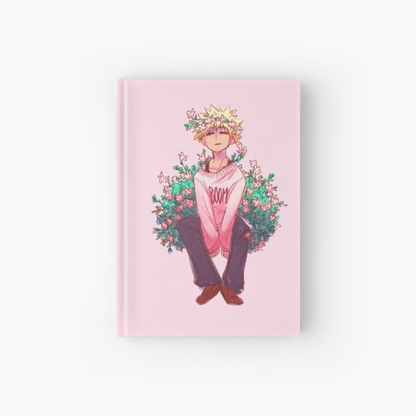 Bakugou in Pink Hardcover Journal