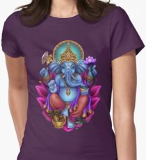 Ganesha Women's Fitted T-Shirt