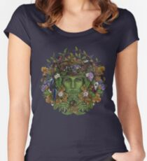 The Greenman Women's Fitted Scoop T-Shirt
