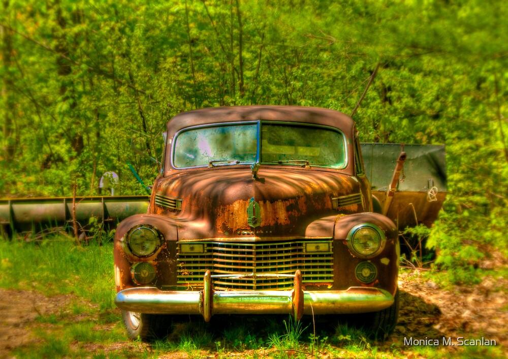 Classic Cadillac by Monica M. Scanlan