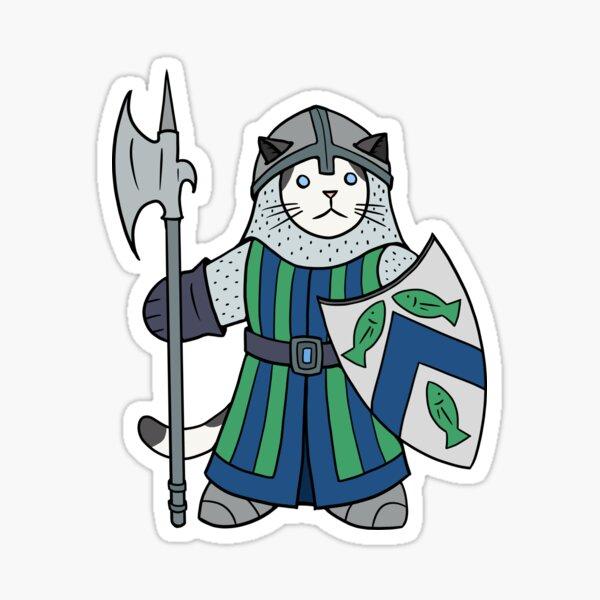 Giles, Guardian of Tuna Sticker