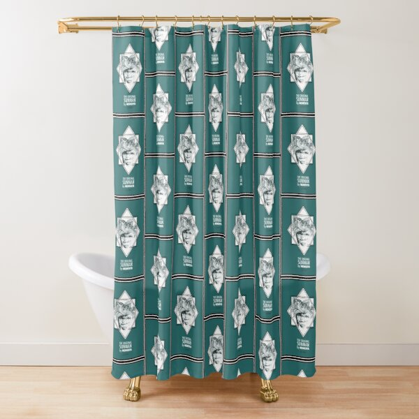 Sun Man Diamond collection Shower Curtain