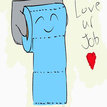 Toilet Paper by LesterBear