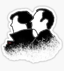 the Holmes boys  Sticker