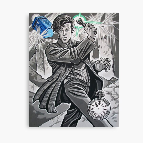 The Eleventh Doctor Canvas Print