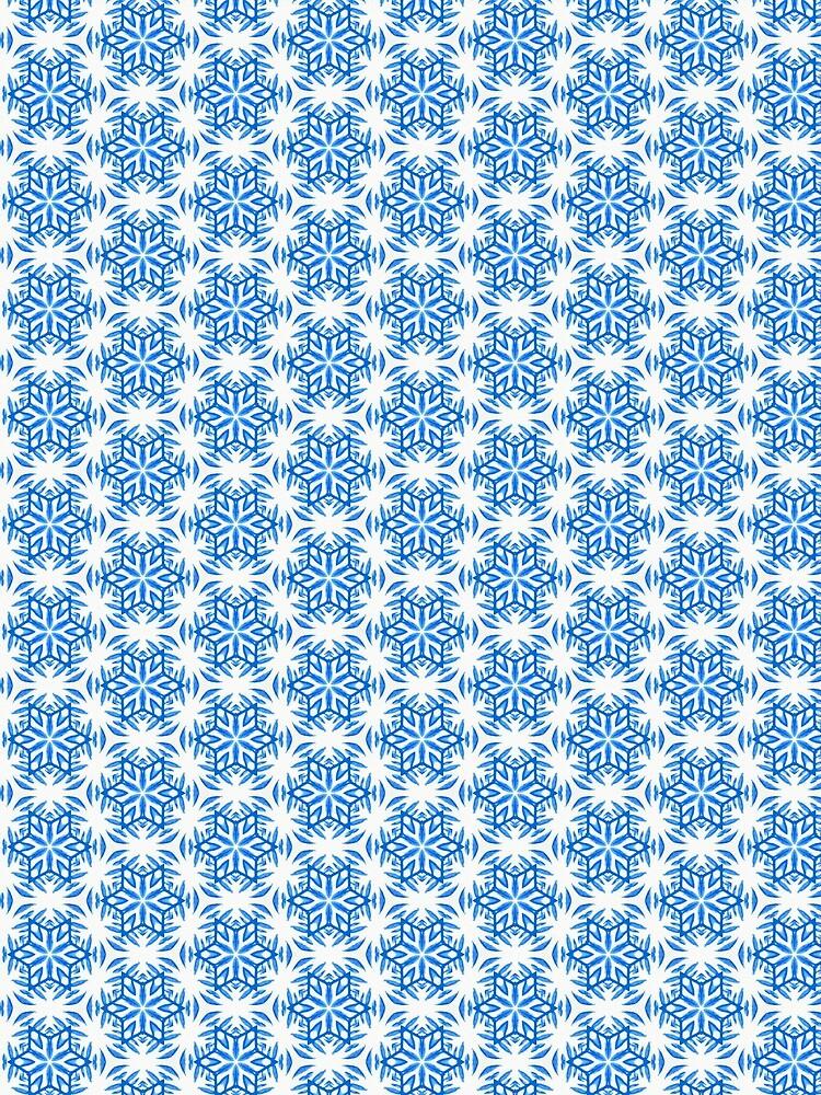 Snowflake pattern #2 by bettyretro
