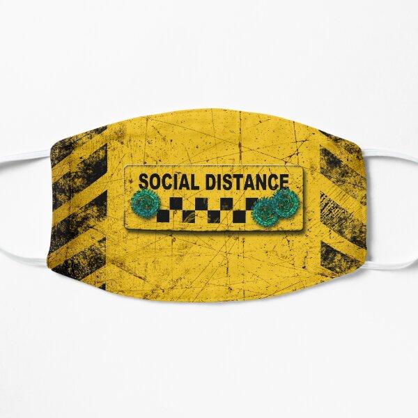 social distance warning Mask